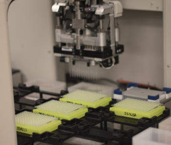 Automated pipetting
